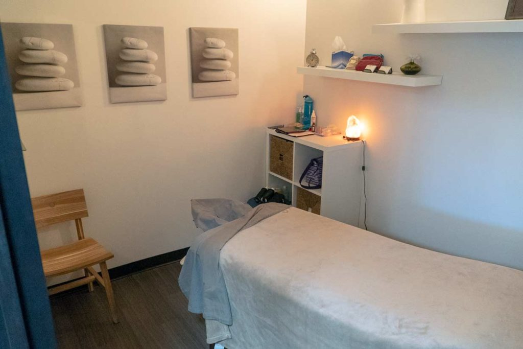 Northern Hills Chiropractic   Massage Therapy Room
